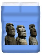 Easter Island 16 Duvet Cover