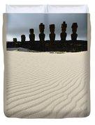 Easter Island 8 Duvet Cover