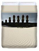 Easter Island 9 Duvet Cover