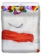Easter Snowman Duvet Cover