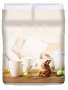 Easter Tea Break Duvet Cover