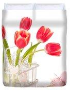 Easter Tulips Duvet Cover