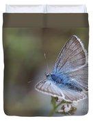 Eastern Baton Blue  Duvet Cover