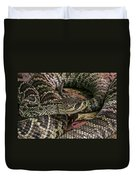 Eastern Diamondback Rattlesnake 1 Duvet Cover