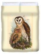 Eastern Grass Owl Duvet Cover
