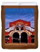 Eastern Market Painted Barn Duvet Cover