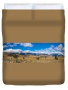 Eastern Sierras 25 Pano Duvet Cover