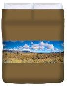 Eastern Sierras 29 Pano Duvet Cover