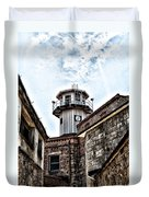 Eastern State Penitentiary Guard Tower Duvet Cover