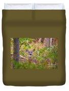 Eastern Whitetail Deer Duvet Cover