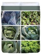 Eat Your Greens Duvet Cover
