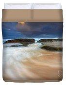 Ebb Tide Sunrise Duvet Cover
