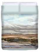 Ebb Tide-the Gurnet Duvet Cover