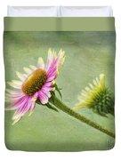 Echinacea Duvet Cover
