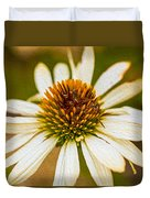 Echinacea Fading Beauty Duvet Cover