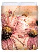 Echinacea Impressions  Duvet Cover