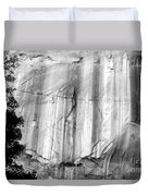Echo Canyon Bw Duvet Cover