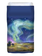 Echoes In The Sky Duvet Cover