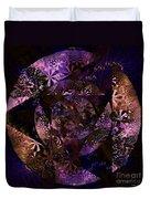 Echoes Through The Night Veil  Duvet Cover