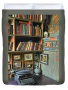 Eclectic Office Duvet Cover