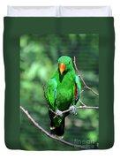 Eclectus Parrot-1 Duvet Cover