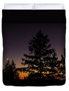 Eclipse In Yosemite Duvet Cover