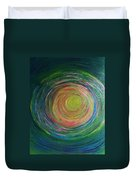 Eclipse Of Time Duvet Cover by Daina White