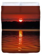 Eclipse Sunset Duvet Cover