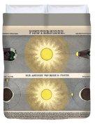 Eclipses Duvet Cover
