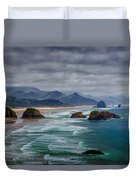 Ecola Viewpoint Duvet Cover