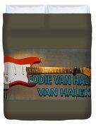 Eddie Van Halen Guitar Duvet Cover