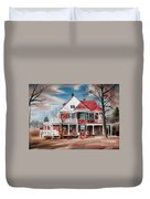 Edgar Home Duvet Cover