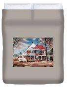 Edgar Home Duvet Cover by Kip DeVore