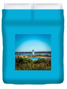 Edgartown Lighthouse Duvet Cover