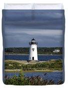 Edgartown Lighthouse Duvet Cover