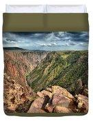 Edge Of The Black Canyon Duvet Cover