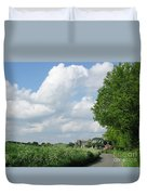 Edge Of Town Duvet Cover