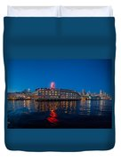 Edgewater The Big Red E Duvet Cover