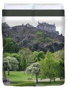 Edinburgh Castle 6493 Duvet Cover