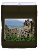 Edinburgh Castle Duvet Cover