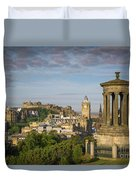 Edinburgh Sunrise Duvet Cover