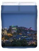 Edinburgh Twilight Duvet Cover