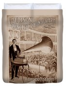 Edison 1 Duvet Cover by Andrew Fare