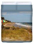 Edisto Beach By Jan Marvin Duvet Cover
