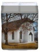 Edmonds Chapel 1891 Duvet Cover