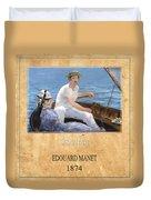 Edouard Manet 4 Duvet Cover