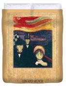 Edvard Munch 2 Duvet Cover