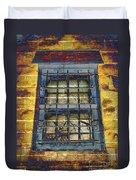 Eerie Window Duvet Cover