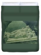 Effigies, Winchelsea Church Duvet Cover