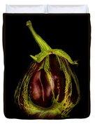 Eggplant From Jennifers' Garden Duvet Cover